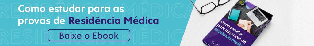 banner do ebook como estudar para nas provas de residência médica 2021