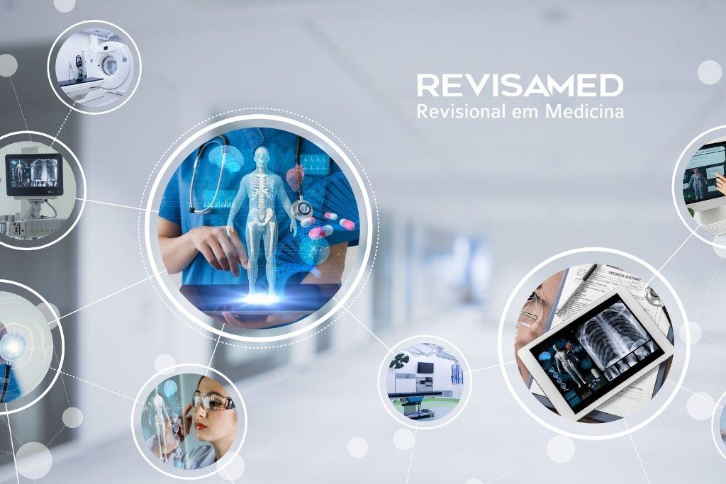 Conectado ao mundo da Medicina Digital Revisamed expande marcas e diversifica cursos para médicos  e estudantes.